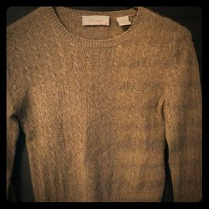 Petite women's cashmere sweater